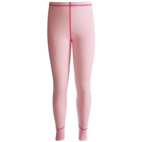 Watson's Thermal Waffle Base Layer Bottoms - Lightweight (For Girls)