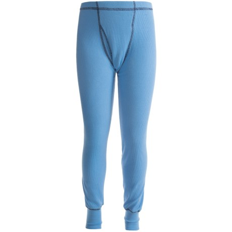 Watson's Thermal Waffle Base Layer Bottoms - Lightweight (For Boys)