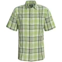 Woolrich Red Creek Plaid Shirt - Short Sleeve (For Men)