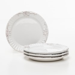 Bombay Regency Salad Plates - Set of 4