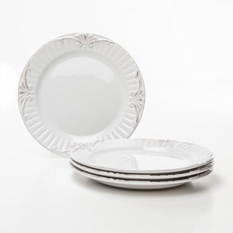 Bombay Regency Dinner Plates - Set of 4