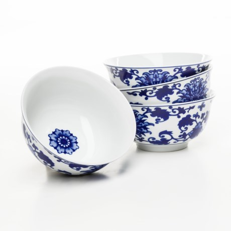 Bombay Asian Garden Cereal Bowls - Set of 4