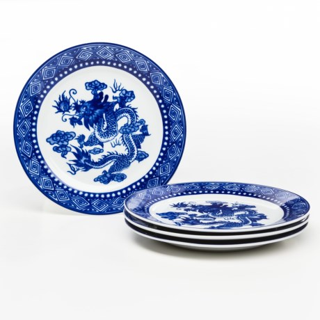 Bombay Asian Garden Salad Plates - Set of 4