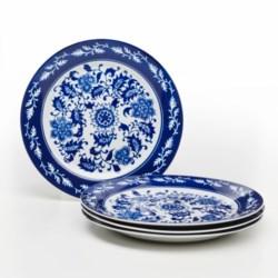 Bombay Asian Garden Dinner Plates - Set of 4