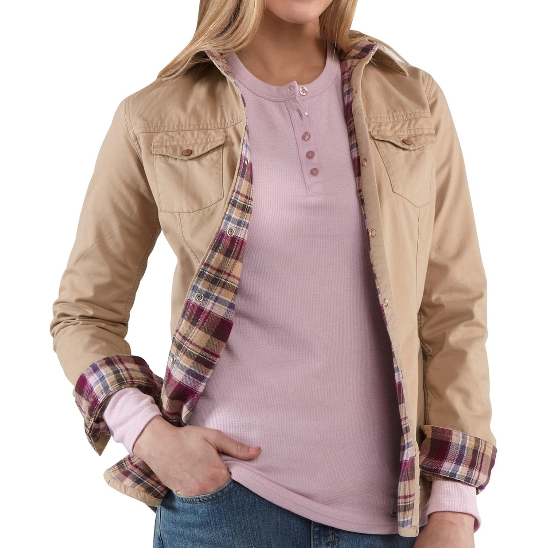 Carhartt Jackson Shirt Jacket For Women 6311d