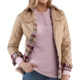 Carhartt Jackson Shirt Jacket - Flannel-Lined, Long Sleeve (For Women)