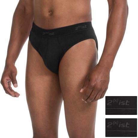 2(x)ist No-Show Underwear - Briefs, 3-Pack (For Men)