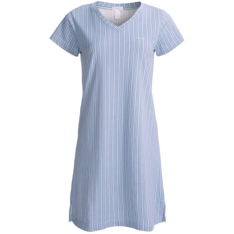 Jockey V-Neck Sleep Shirt - Short Sleeve (For Women)