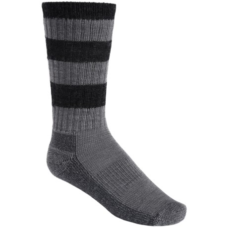 SmartWool Striped Light Hiking Socks - Merino Wool, Crew (For Little and Big Kids)