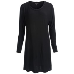 Midnight by Carole Hochman Modern Comfort Sleep Shirt - Long Sleeve (For Women)
