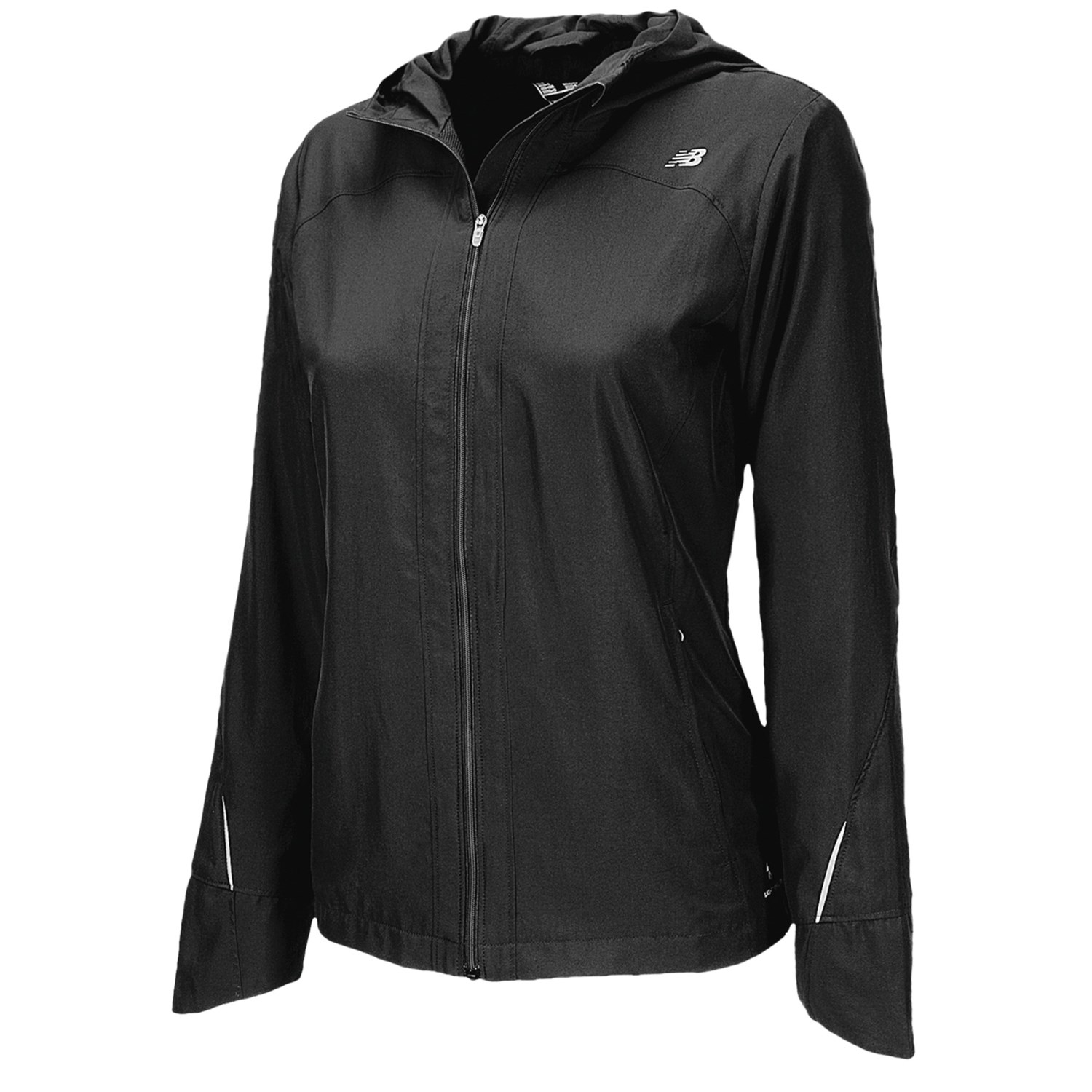 new balance sequence hooded jacket for women 6327y. Black Bedroom Furniture Sets. Home Design Ideas