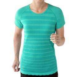 SmartWool PhD Run Shirt - Merino Wool, Short Sleeve (For Women)