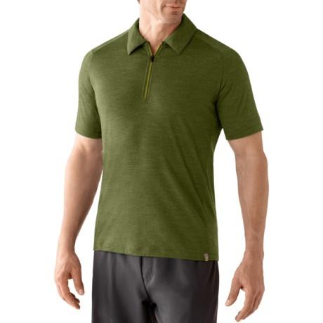 SmartWool Teller Polo Shirt - Merino Wool, Zip Neck, Short Sleeve (For Men)