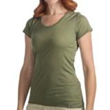SmartWool U-Neck T-Shirt - Merino Wool, Short Sleeve (For Women)