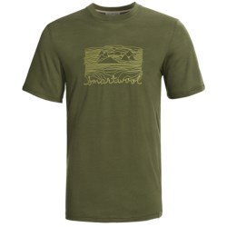 SmartWool Mountain Sun T-Shirt - Merino Wool, Slim Fit, Short Sleeve (For Men)
