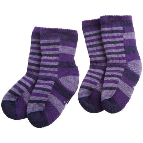 SmartWool Sock Sampler Socks - 2-Pack, Merino Wool (For Infants and Toddlers)