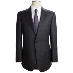 Hickey Freeman Large Plaid Suit - Worsted Wool (For Men)