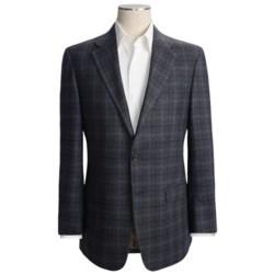 Hickey Freeman Double Windowpane Sport Coat - Wool-Silk-Cashmere (For Men)