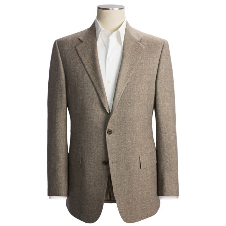 Hickey Freeman Tweed Sport Coat - Wool-Silk-Linen-Cashmere (For Men)