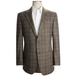 Hickey Freeman Plaid Sport Coat - Wool-Cashmere-Silk (For Men)