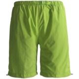 White Sierra Hanalei Bermuda Shorts (For Plus Size Women)