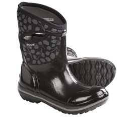 Bogs Plimsoll Leaf Mid Rain Boots - Waterproof (For Women)