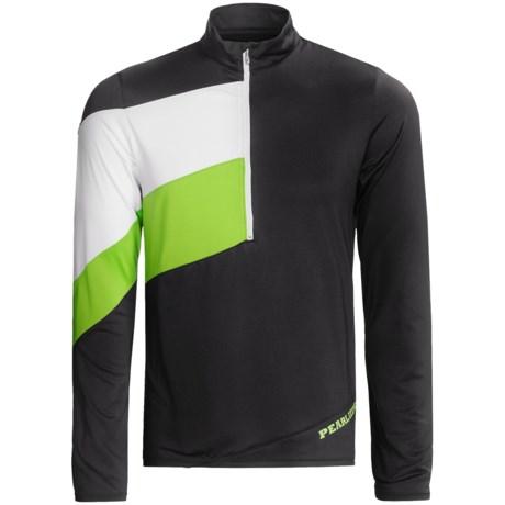 Pearl Izumi Launch Cycling Jersey - UPF 50+, Zip Neck, Long Sleeve (For Men)