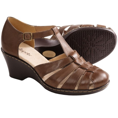 Softspots Idelia Sandals - Leather, Wedge (For Women)