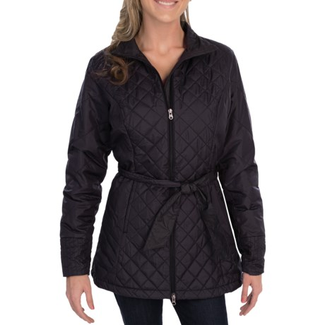 lucy Winter Hideaway Trench Jacket - Lightweight, Insulated (For Women)