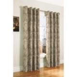 """Habitat Beaufort Faux-Silk Jacquard Curtains - 100x95"""", Grommet-Top"""