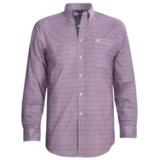 Panhandle Slim Peached Poplin Print Shirt - Long Sleeve (For Men)