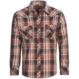 Rock & Roll Cowboy Poplin Plaid Shirt - Long Sleeve (For Men)