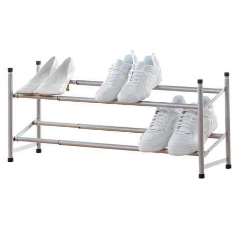 neatfreak! 2-Shelf Expandable Shoe Rack