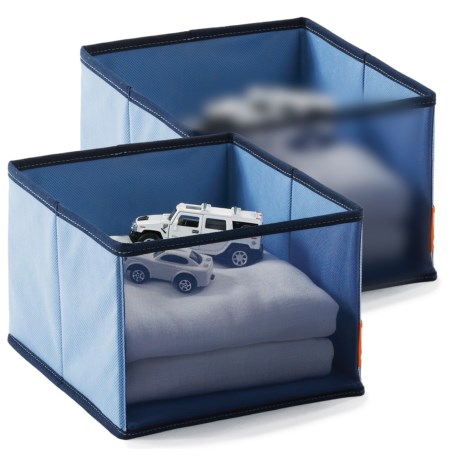 neatfreak! neatKids Mesh Front Storage Cubes - Set of 2