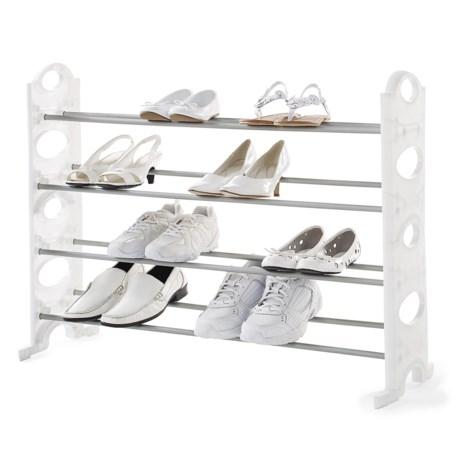 neatfreak! Stackable 20-Pair Shoe Rack