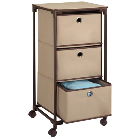 neatfreak! closet[MAX] 3-Drawer Storage Unit - Rolling
