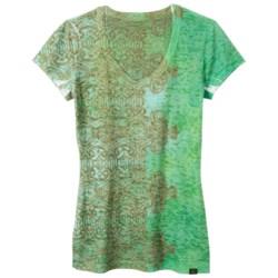 prAna Bindi Burnout T-Shirt - Short Sleeve (For Women)