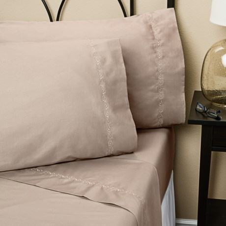 Christy Silk Excellence Sheet Set - Queen, 350 TC Cotton-Silk