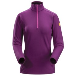 Arc'teryx Phase SV Base Layer Top - Midweight, Zip Neck, Long Sleeve (For Women)