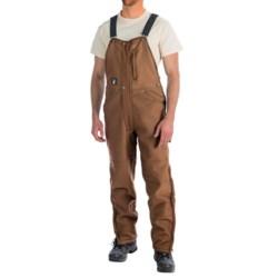 Alaskan Hardgear Pipeline Bib Overalls - Shearling-Lined (For Men)