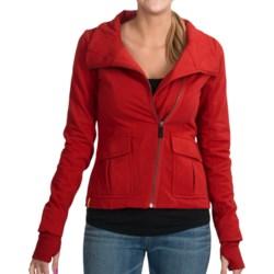 Lole Orion Asymmetrical Sweatshirt - UPF 50+, Full Zip (For Women)