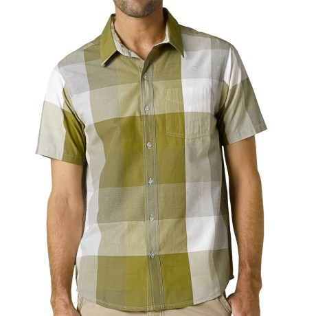 prAna Brighton Shirt - Organic Cotton, Short Sleeve (For Men)