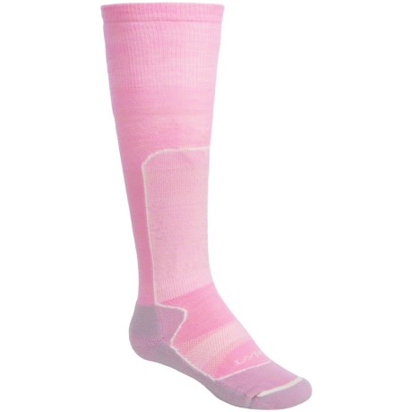 Lorpen Lightweight Race Ski Socks - 2-Pack, Merino Wool, Over-the-Calf (For Kids and Youth)