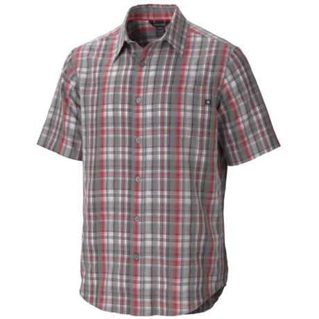 Marmot Byron Plaid Shirt - UPF 50, Short Sleeve (For Men)