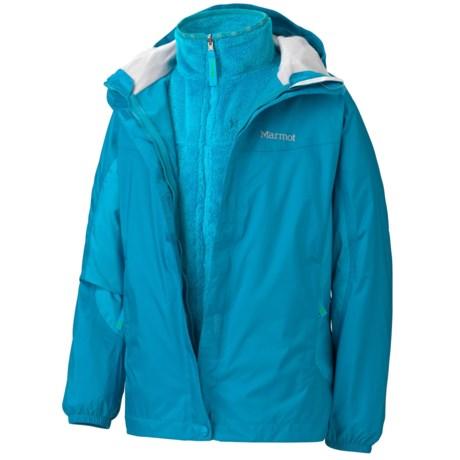 Marmot Northshore Jacket -Waterproof, 3-in-1 (For Girls)