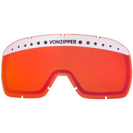 Von Zipper Fubar Replacement Lens