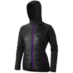 Marmot Variant Hooded Jacket - Polartec® Power Stretch® (For Women)