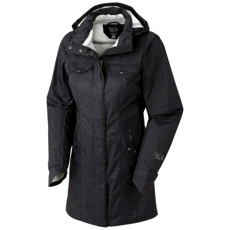 Wow! Really nice raincoat for tall women - Review of Mountain ...