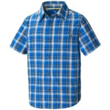Marmot Alder Plaid Shirt - UPF 50, Short Sleeve (For Boys)