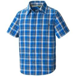 Marmot Alder Plaid Shirt - UPF 50, Short Sleeve (For Boys)